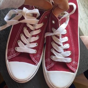 Burgundy Colored Shoes